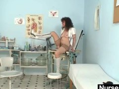 Preview 4 of Aged Amateur Lady Extremly Hairy Pussy Self Exam