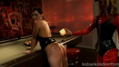 Mistress punish her sexy slave