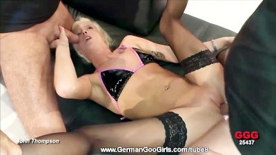 Rounds of fucking with blonde Lucy