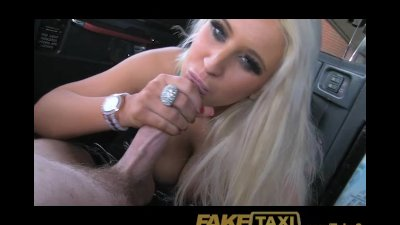 FakeTaxi Adult tv star seduces taxi driver