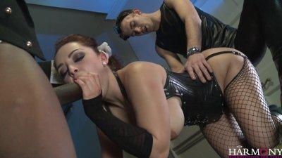 HarmonyVision Liza del Sierra demands the big black cock