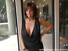 Preview 2 of Busty Milf Sucks Cock And Gets Cum Facial
