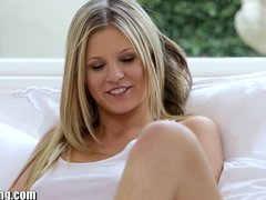 Preview 4 of Webyoung Teen Blondes Experiment With Lesbian Licking
