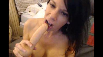 Busty MILF Reaches Orgasm