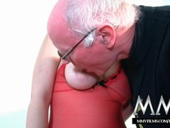Preview 4 of Mmv Films Teen Girl Fucked By A Grandpa