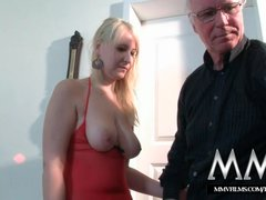 Preview 5 of Mmv Films Teen Girl Fucked By A Grandpa