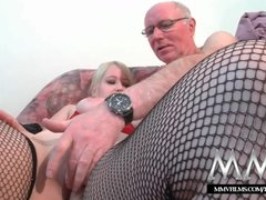 Preview 6 of Mmv Films Teen Girl Fucked By A Grandpa