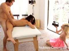 Preview 7 of Nubiles Casting - Flexible Fuck Bunny Really Wants This Job