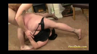 extreme flexible fat real doll