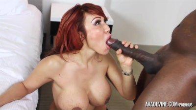 PornstarPlatinum - Ava Devine and Madingo's 12inch cock
