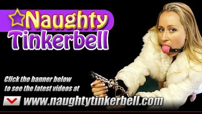 Naughty Tinkerbell gets a good drilling in her wet holes