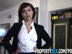 Preview 3 of Propertysex - Really Cute Real Estate Agent Makes Dirty Sex Video