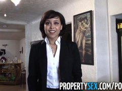 Preview 4 of Propertysex - Really Cute Real Estate Agent Makes Dirty Sex Video