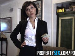 Preview 5 of Propertysex - Really Cute Real Estate Agent Makes Dirty Sex Video
