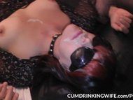 Slutwife Marion takes plenty of cocks