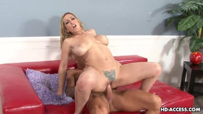 Cock eager mature with saggy tits gets doggy styled