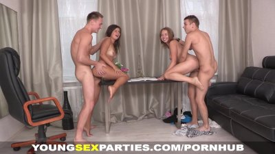 Young Sex Parties - Girlfriends fucked like sluts