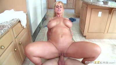 Stepmom takes some young cock - Brazzers
