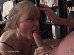 Preview 6 of Nina Hartley Is A Slutty Corporate Stepmother