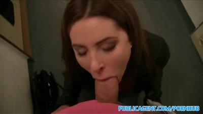 PublicAgent Hot Russian loves fucking in public