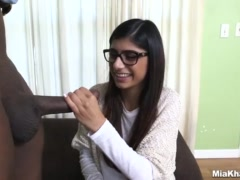 Preview 5 of Mia Khalifa Tries A Big Ebony Dick (mk13775)