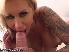 Preview 4 of Hardx Cougar Sucks Balls And Does Anal Pov
