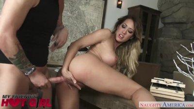 Capri Cavanni fucks her boyfriend's pal - Naughty America