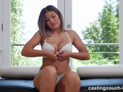 Preview 4 of Hot Asian Girl Fucking Her First Ebony Guy To Be In A Rap Video