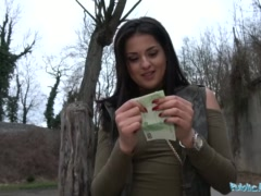 Preview 2 of Public Agent Outdoor Orgasms For Serbian Beauty