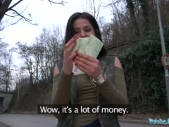 Preview 4 of Public Agent Outdoor Orgasms For Serbian Beauty