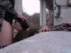 Preview 8 of Public Agent Outdoor Orgasms For Serbian Beauty
