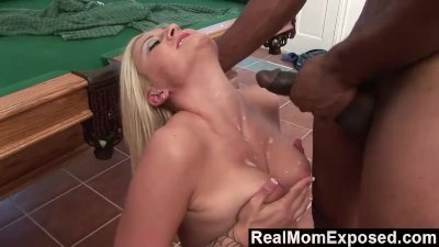RealMomExposed - Stacy TBlack Cockhorn Can\'t Wait For Thick