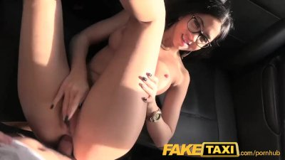 FakeTaxi Spanish babe has great tits and ass