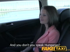 Preview 3 of Faketaxi Brunette Fucked From Behind By Taxi Driver