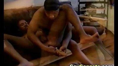 Hot Ghetto Gay Lovers on Hardcore Anal Sex