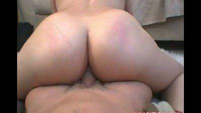 horny brunette latina enjoying a hard fuck