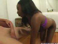 Ass Fixation 2, Hot ebony ass gets jizzed