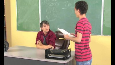 Gay Teacher Fantasy Comes True
