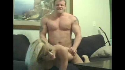 Blonde Kay Gets Busted