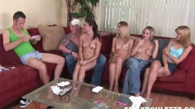 Young openminded couples meet to play sex games fuck 10