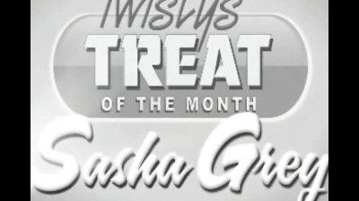 Sasha Grey in the Shower
