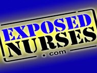 Nasty nurse unvarying Gabina dildo masturbation