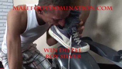 Humiliated foot lover