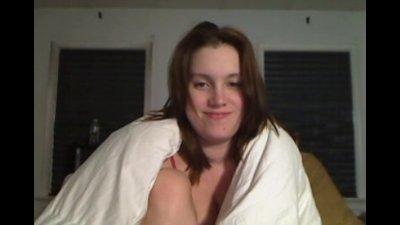 Lelu Love Red Mesh Crotchless Bodysuit Masturbating