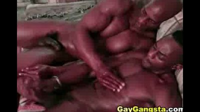 Gay thugs anal hole fucking at the couch