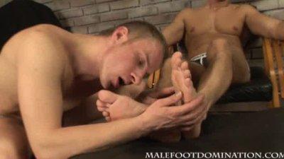 Workers foot sex
