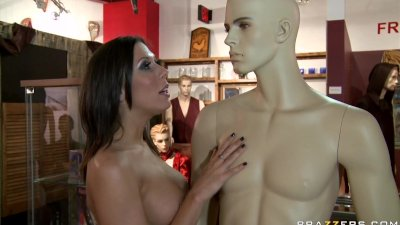 Bigtit brunette pornstar is a sex doll with a big ass, who loves to fuck.