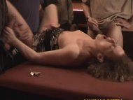 The Swinger Experience Presents Wife gets gangbanged by over 30 guys