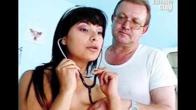 Tera Joy pussy gyno gaping at clinic by old doctor