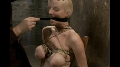 Hot little blondie used in Rope lesson